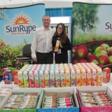 Sun-Rype Trade Show Promotion at Grocery Showcase West