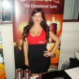 Promotional model for Appleton Rum