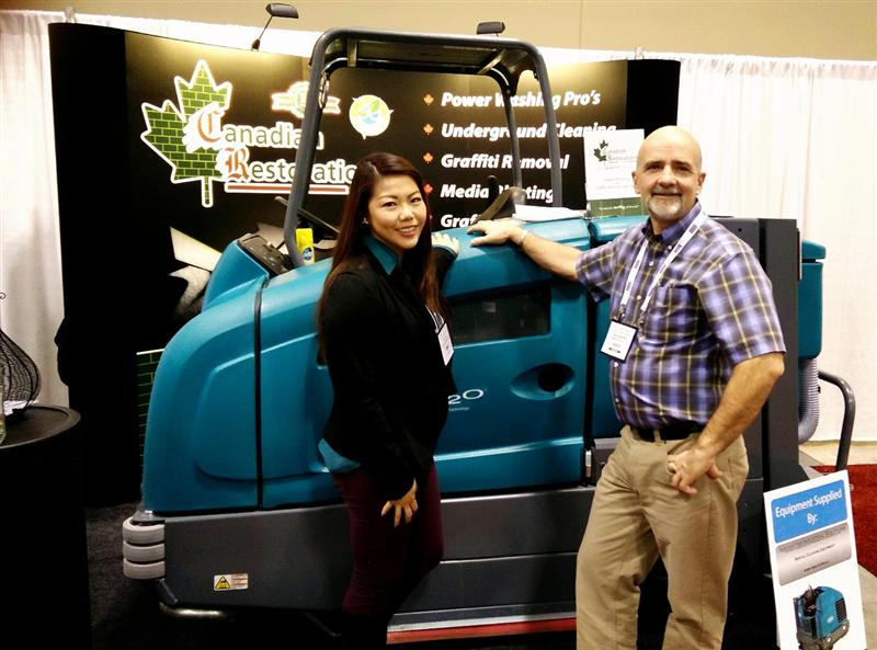 trade show services for canadian restorations at pm expo home depot design center locations home and landscaping