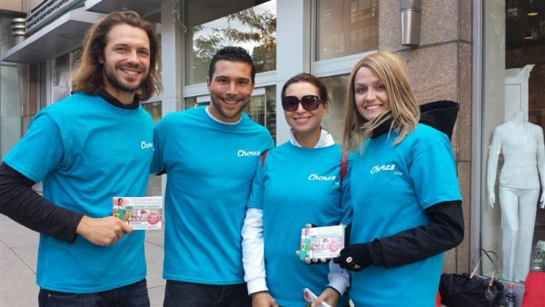 Street team brand ambassadors