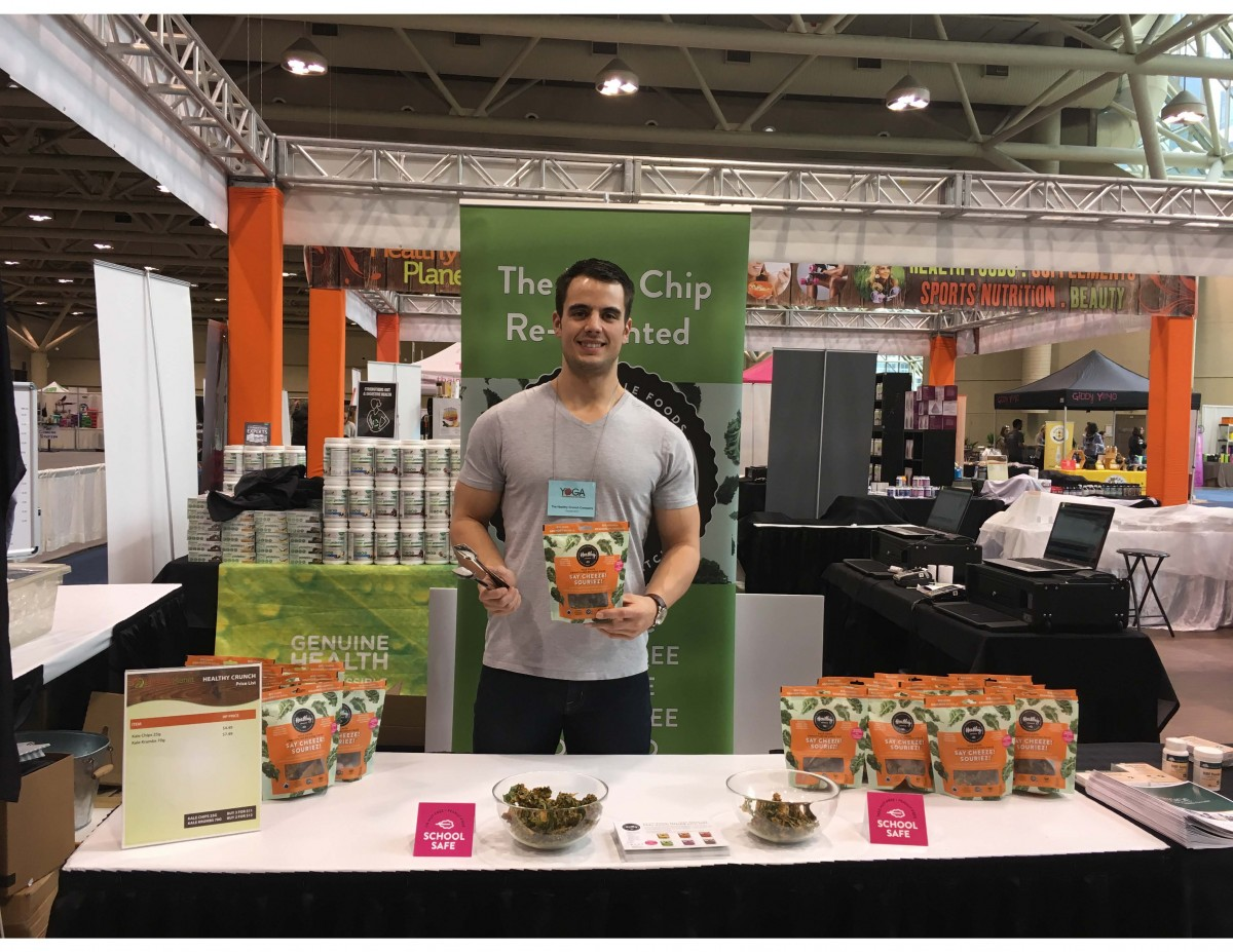 2017 03 31 to 04 02 Athletic Promo Staff for Healthy Crunch at Toronto Yoga Show