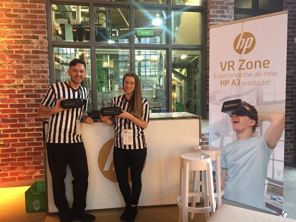 2017 03 31 to 04 07 Tech Savvy Brand Ambasadors for the HP A3 Printer Launch in CAL/TO/MTL