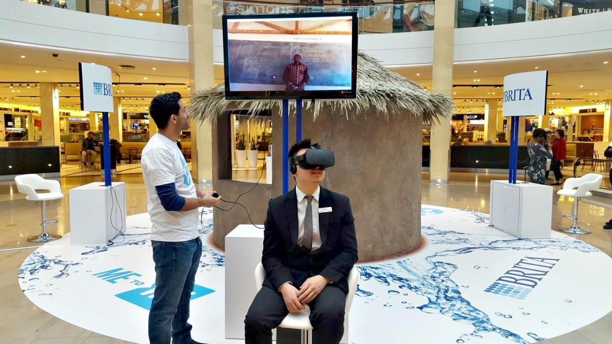 2017 03 20 to 04 09 Virtual Reality Experience for BRITA at Square One