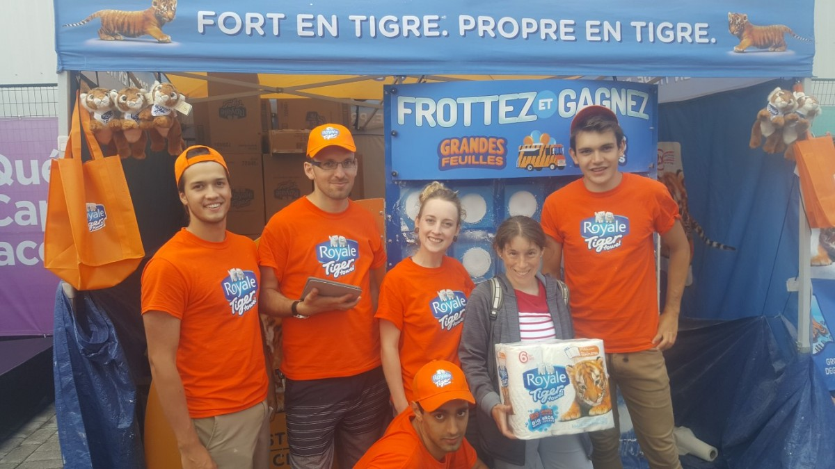2017 07 05 to 09 Quebec City Events Staff at Festival D'ete